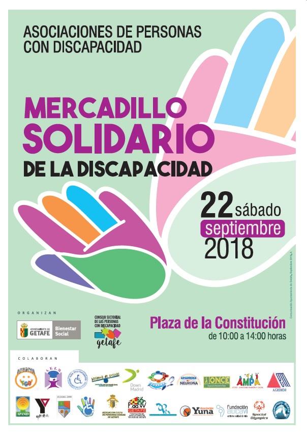 Mercadillo solidario Getafe 2018