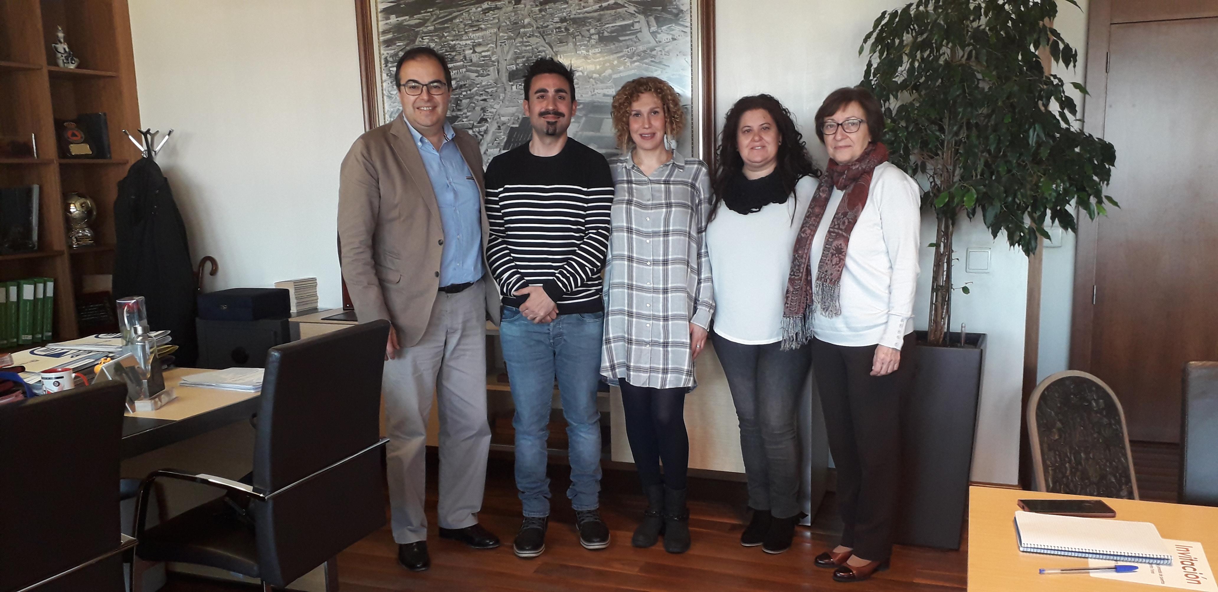 Visita a la Alcaldía de Leganés