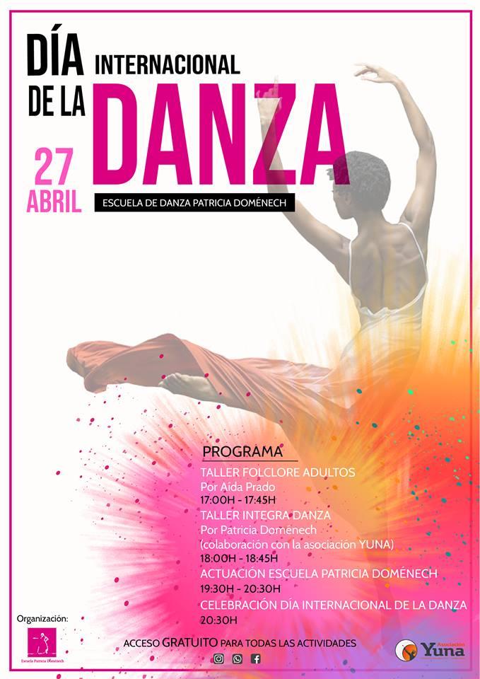 DÍA INTERNACIONAL DE LA DANZA CON PATRICIA DOMÉNECH